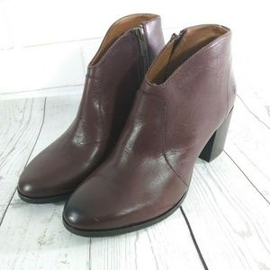 Frye Women Nora Booties Redwood Ankle Boots 7